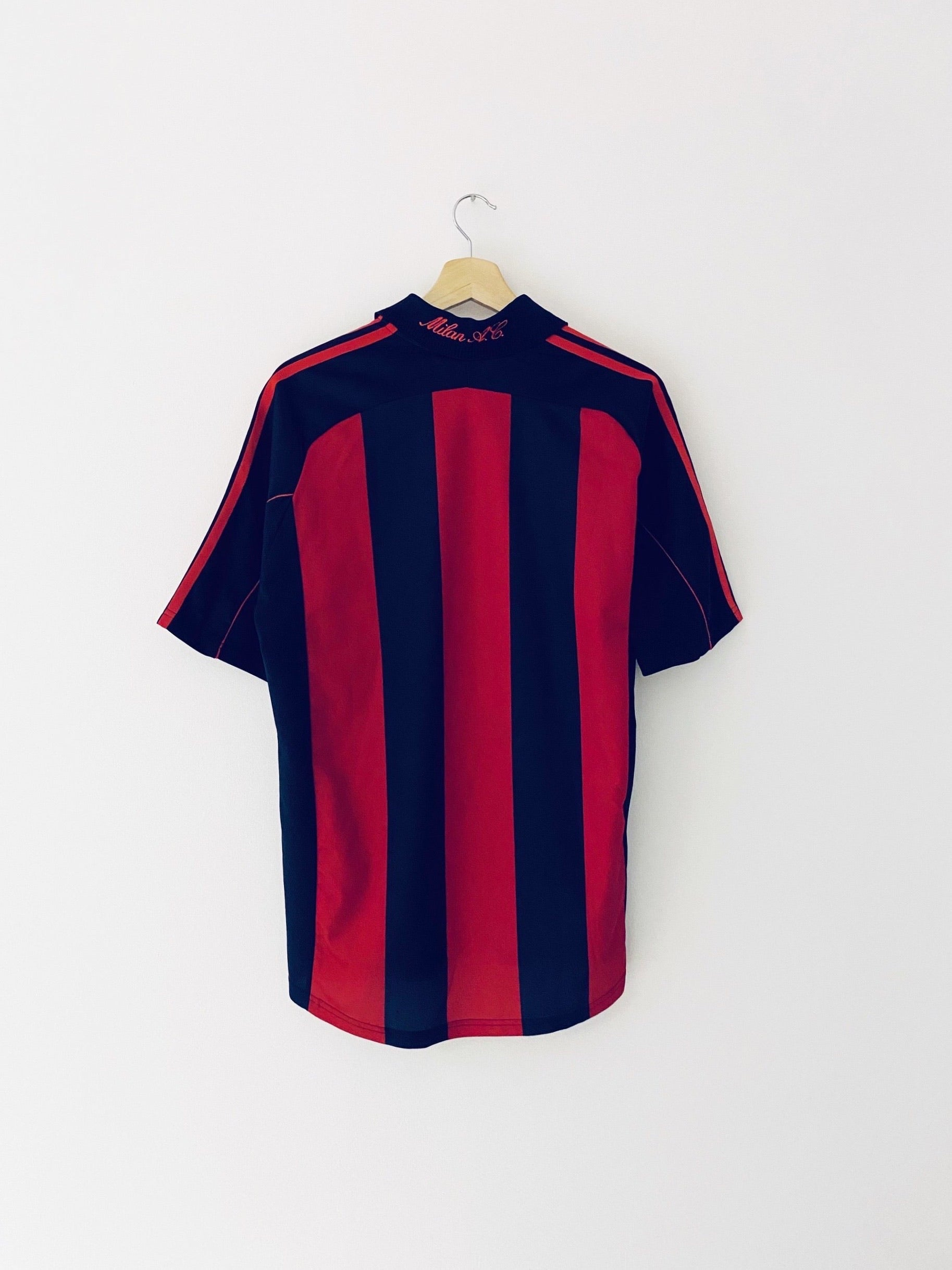 2000/02 AC Milan Home Shirt (M) 7/10