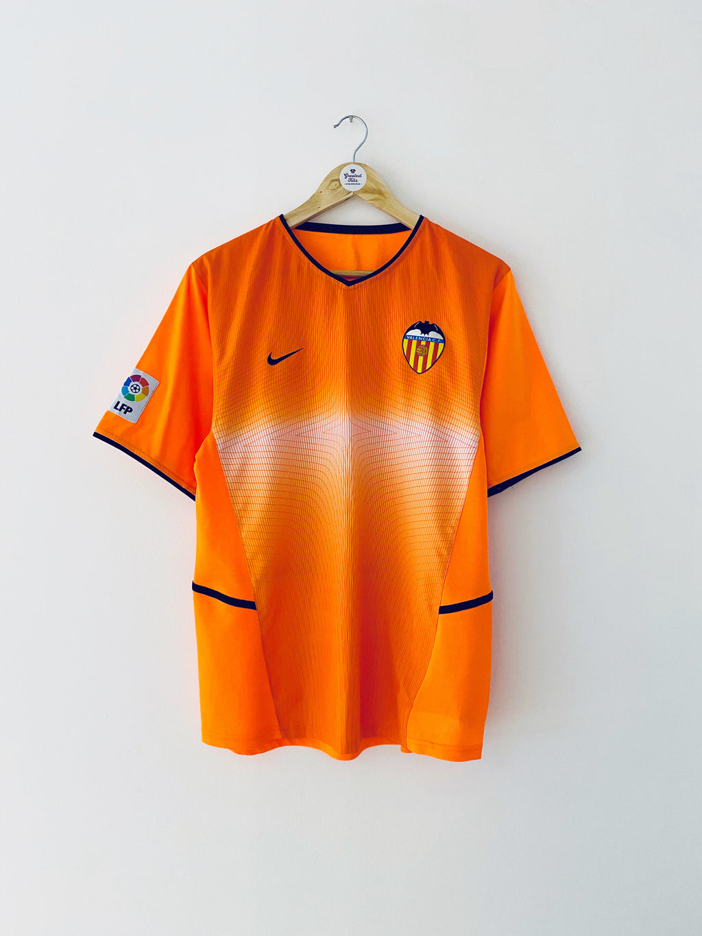 2002/03 Valencia Away Shirt (M) 9/10