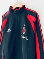 2004/05 AC Milan 1/2 Zip Training Top (M/L) 9/10