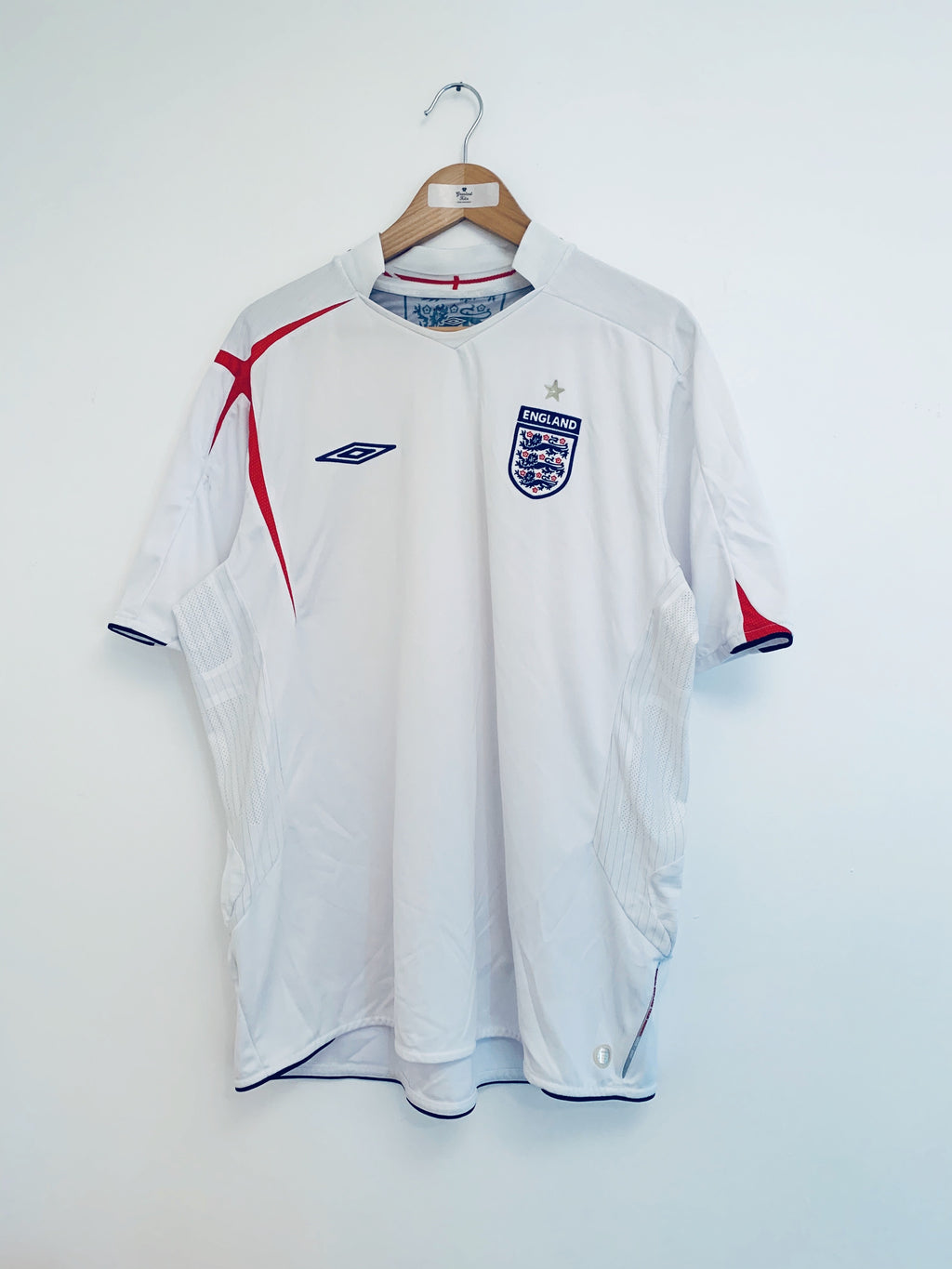 2005/07 England Home Shirt (XXL) 9/10