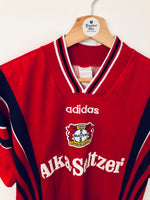 1996/97 Bayer Leverkusen Home Shirt (S) 7.5/10