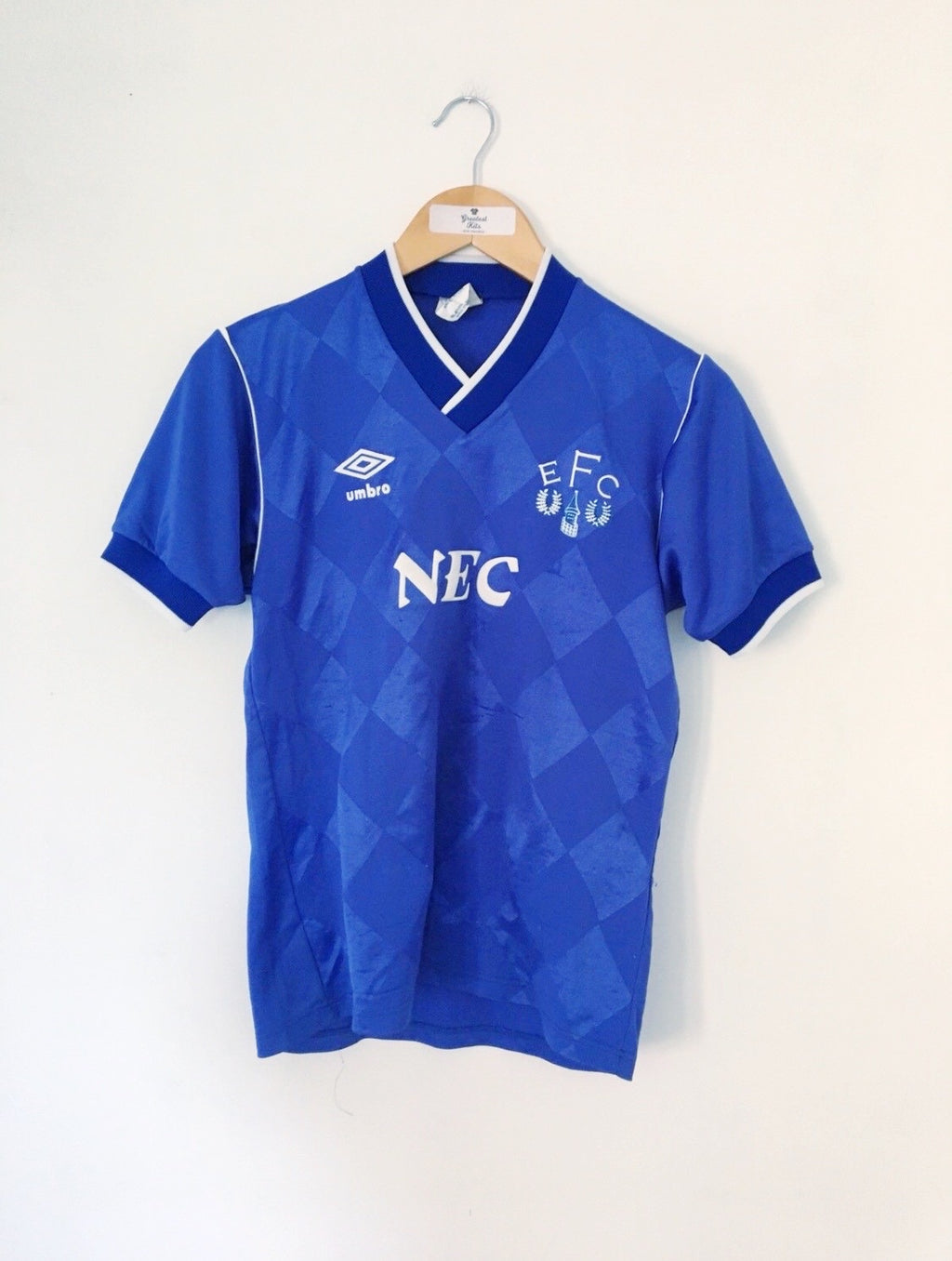 1986/89 Everton Home Shirt (Y) 6/10