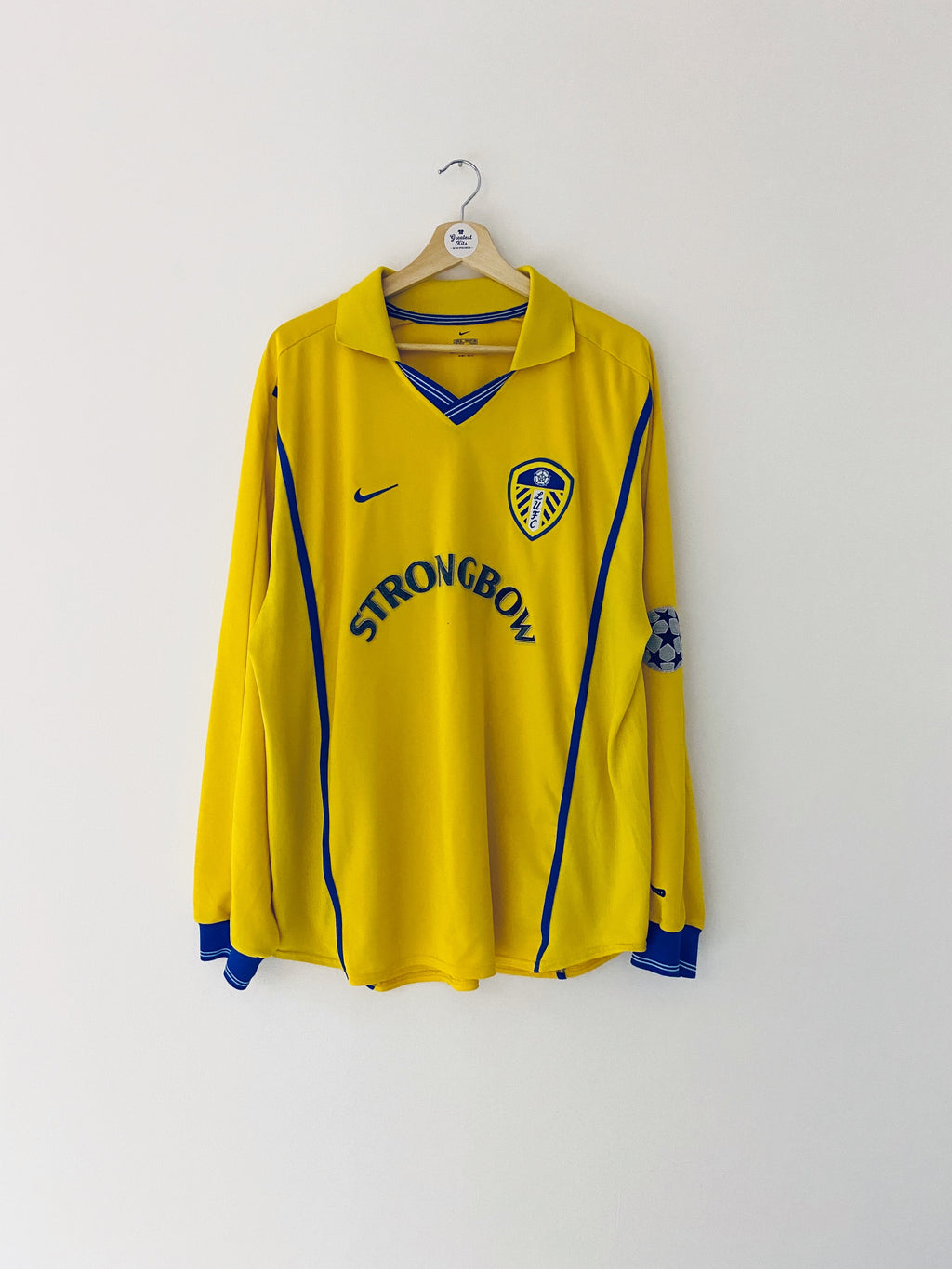 2000/02 Leeds United Away L/S Shirt (XL) 6/10