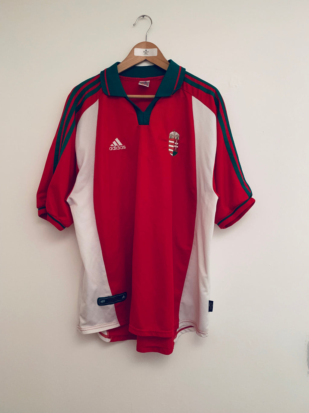 2000/01 Hungary Home Shirt (XXL) 9/10