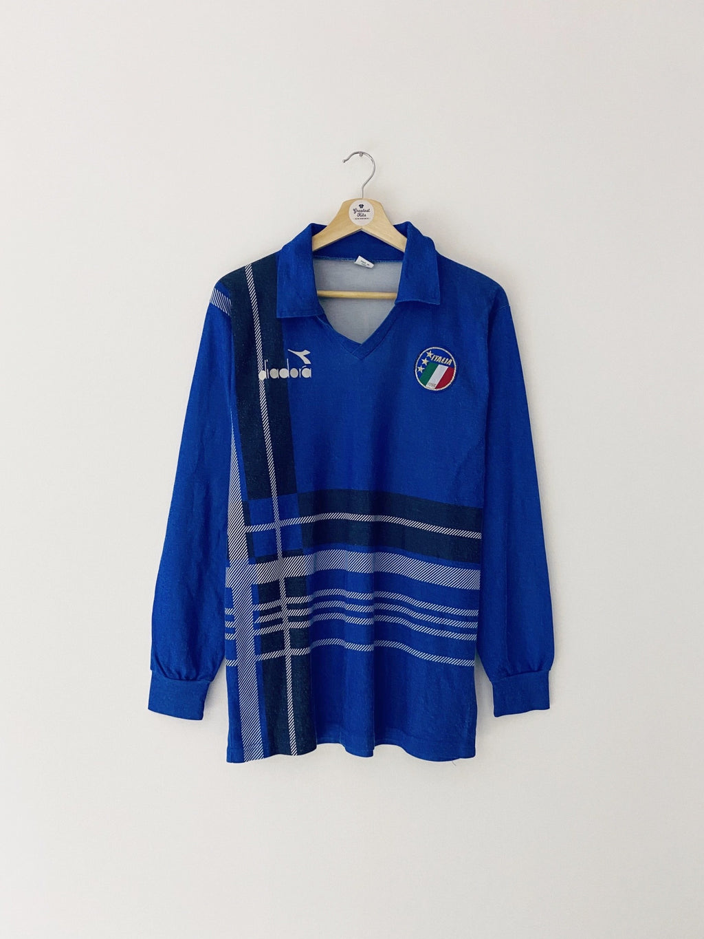 1986/88 Italy Training L/S Shirt (L) 5.5/10