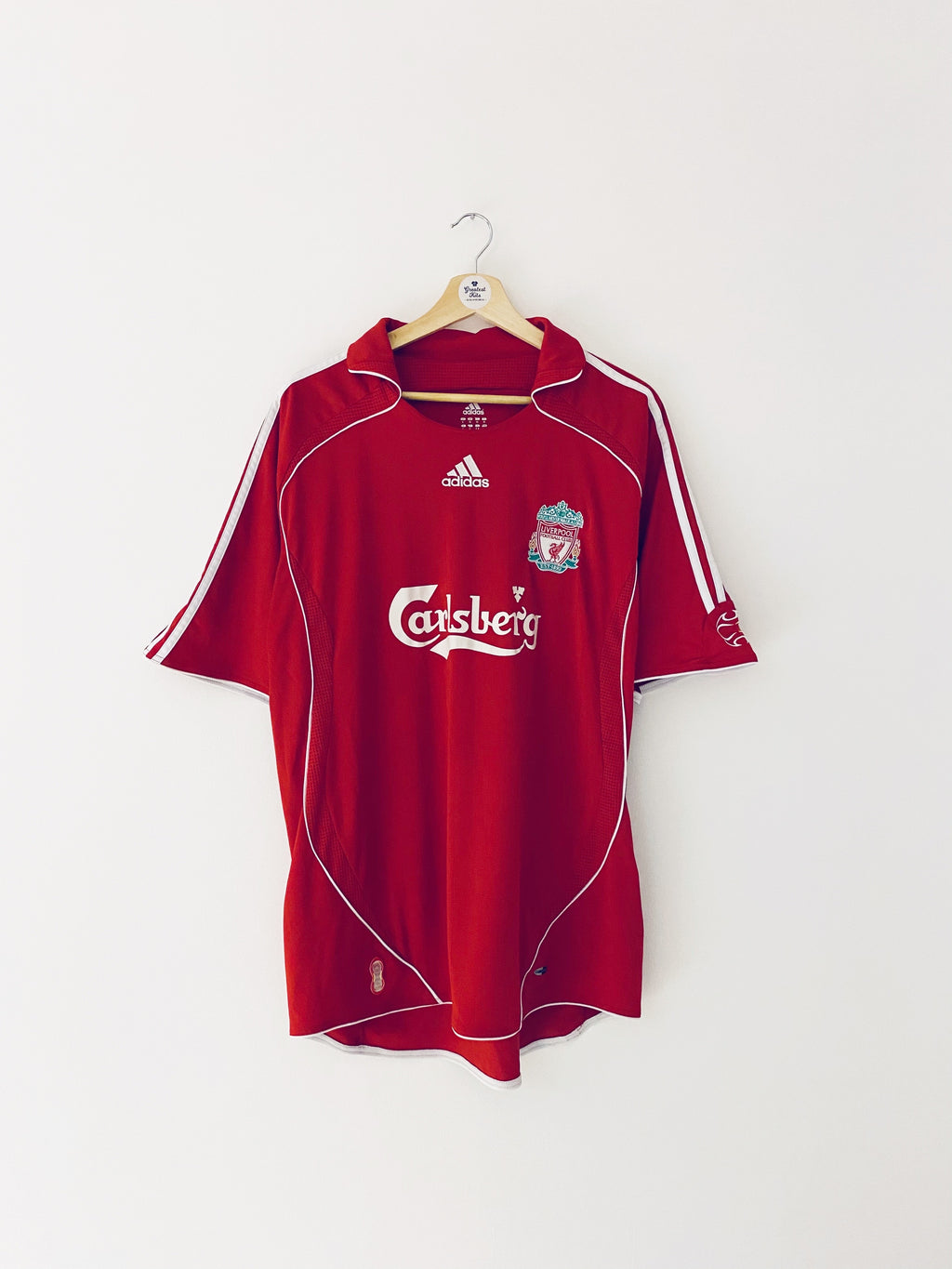 2006/08 Liverpool Home Shirt (XL) 9/10