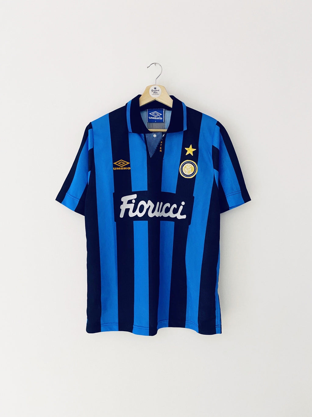 1992/94 Inter Milan Basic Home Shirt (S) 8/10