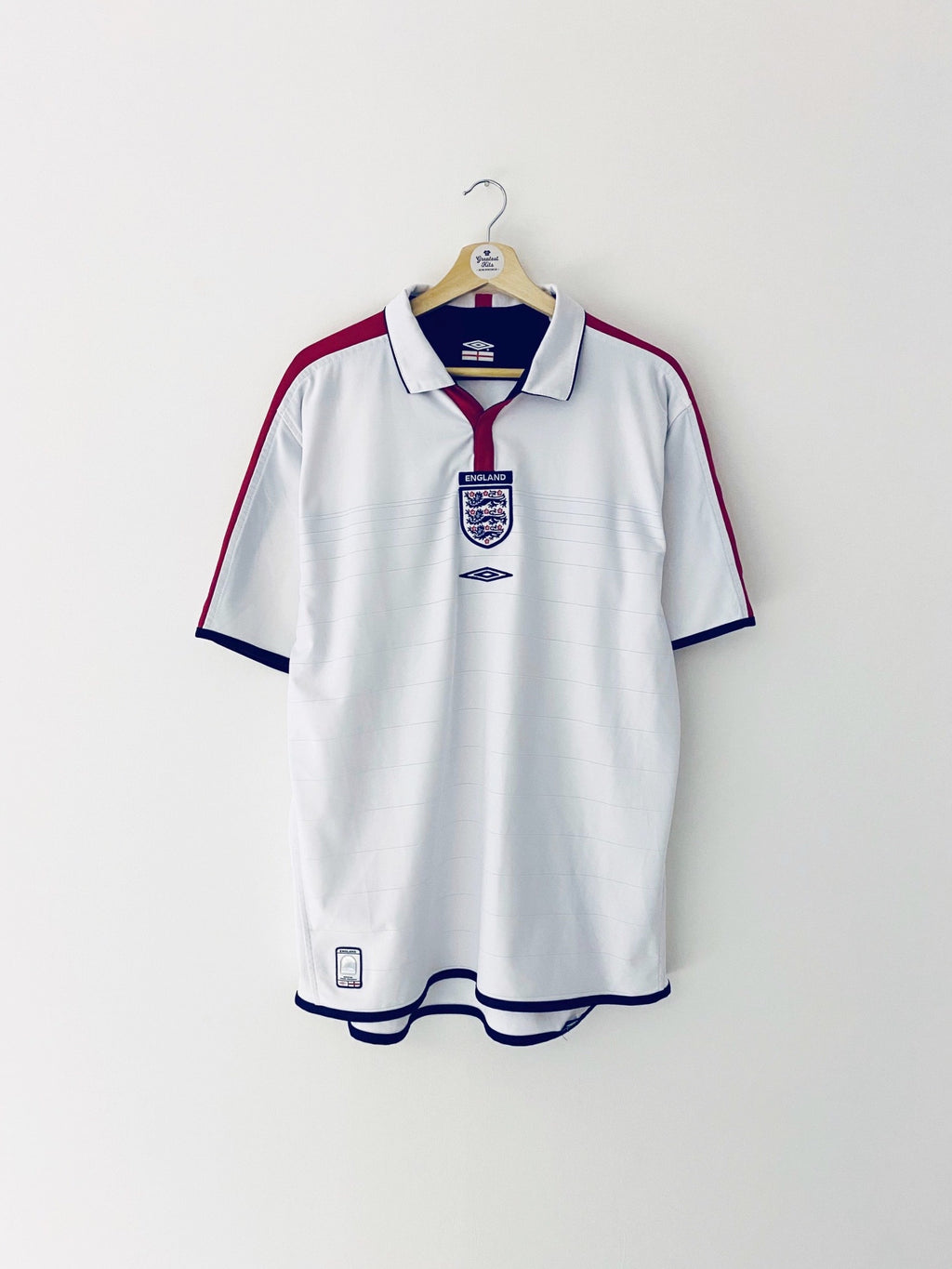 2003/05 England Home Shirt (L) 8.5/10