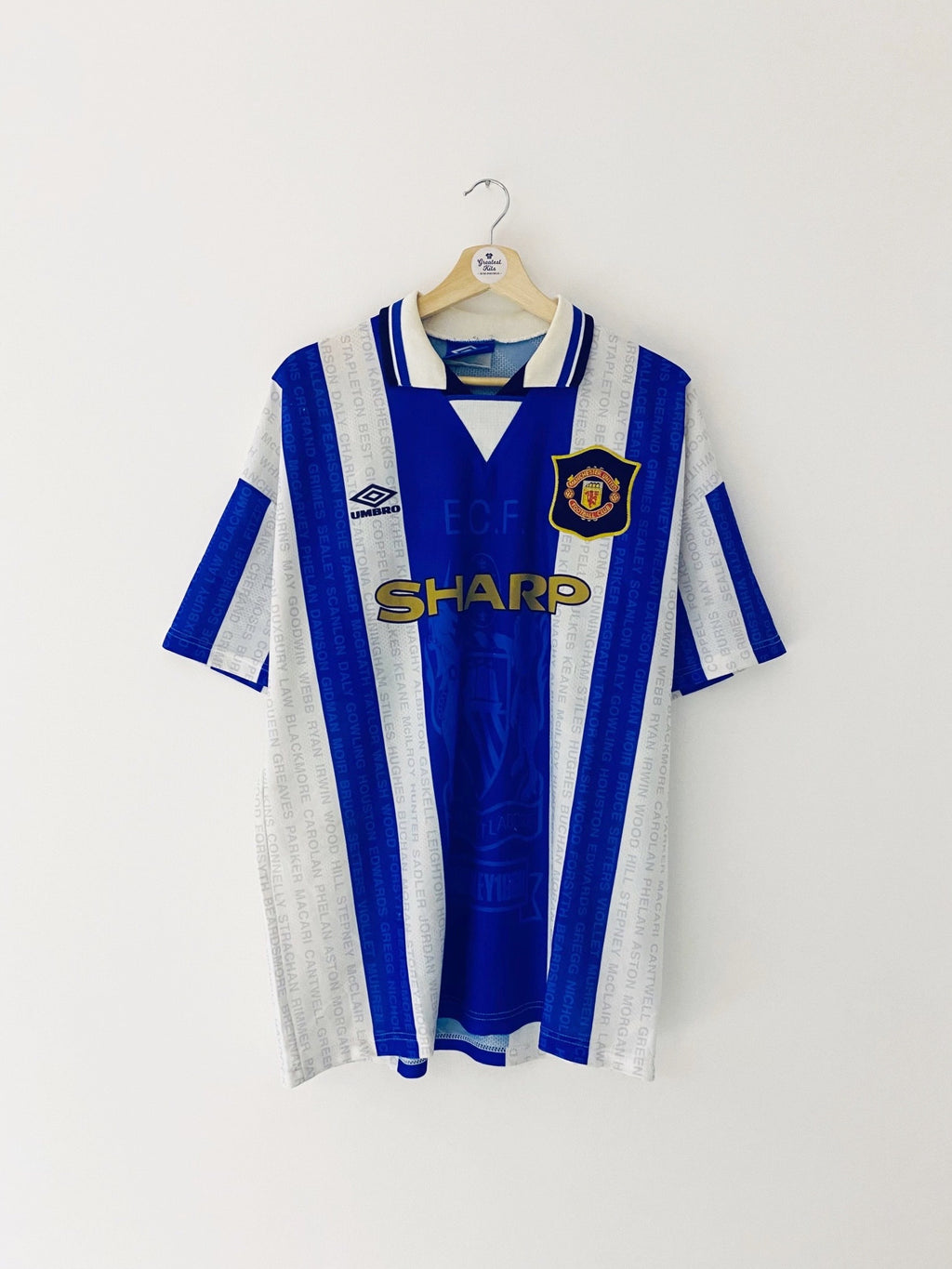 1994/96 Manchester United Third Shirt (L) 7.5/10