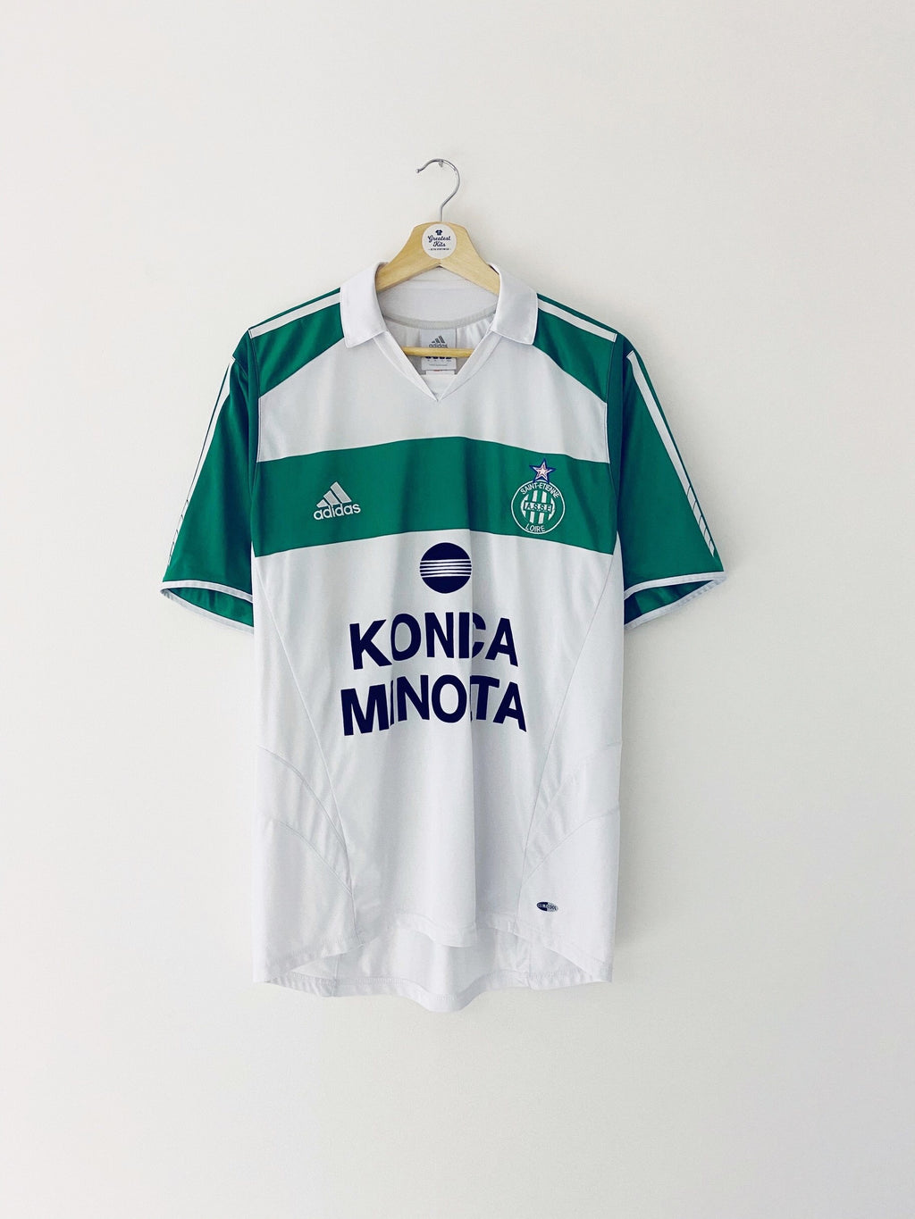 2005/06 Saint Etienne Away Shirt (M) 9/10