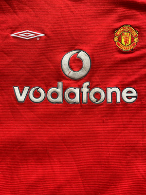 2000/02 Manchester United Home Shirt (L.Boys) 6.5/10
