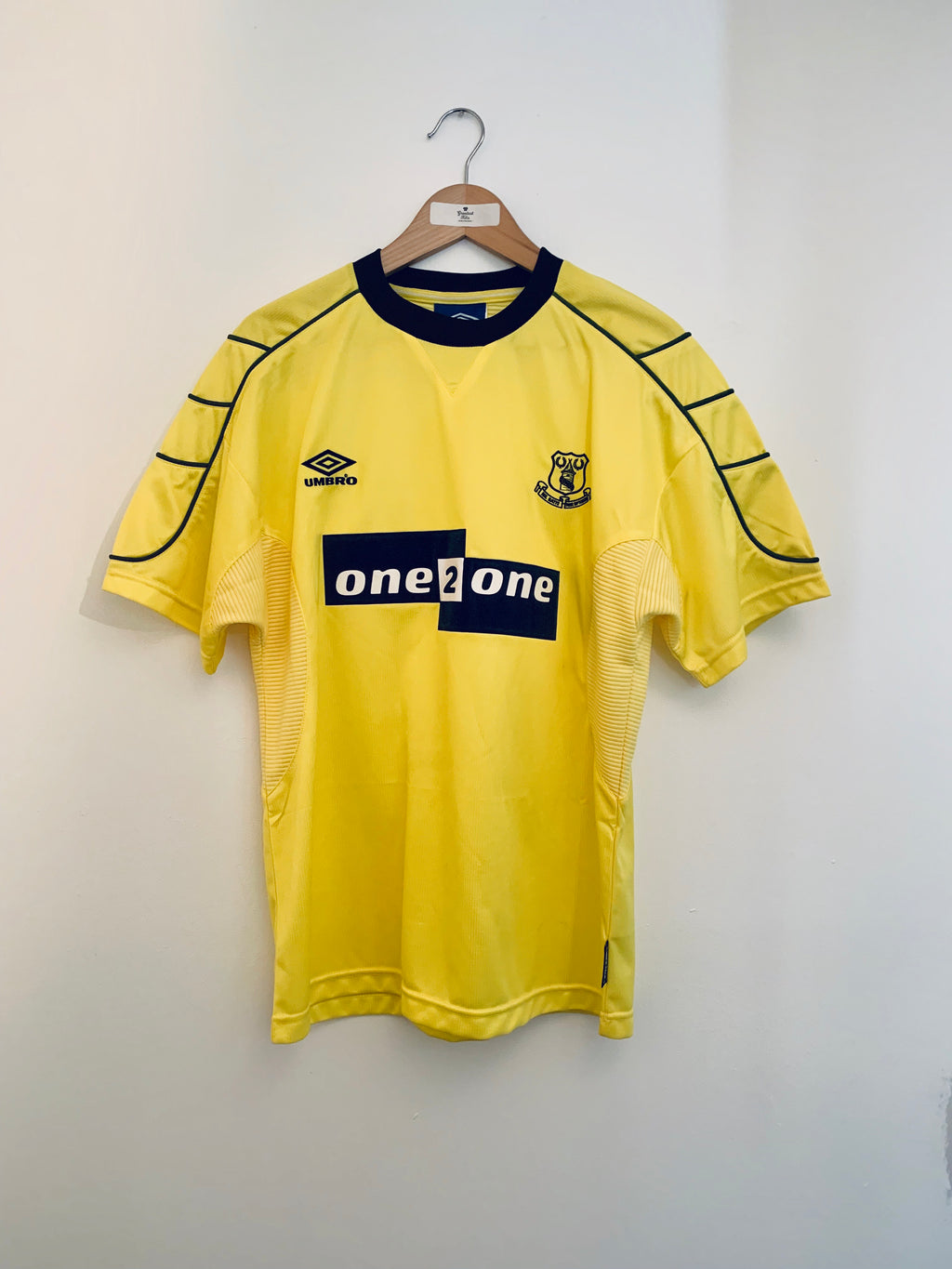 1999/00 Everton Away Shirt (M) 10/10