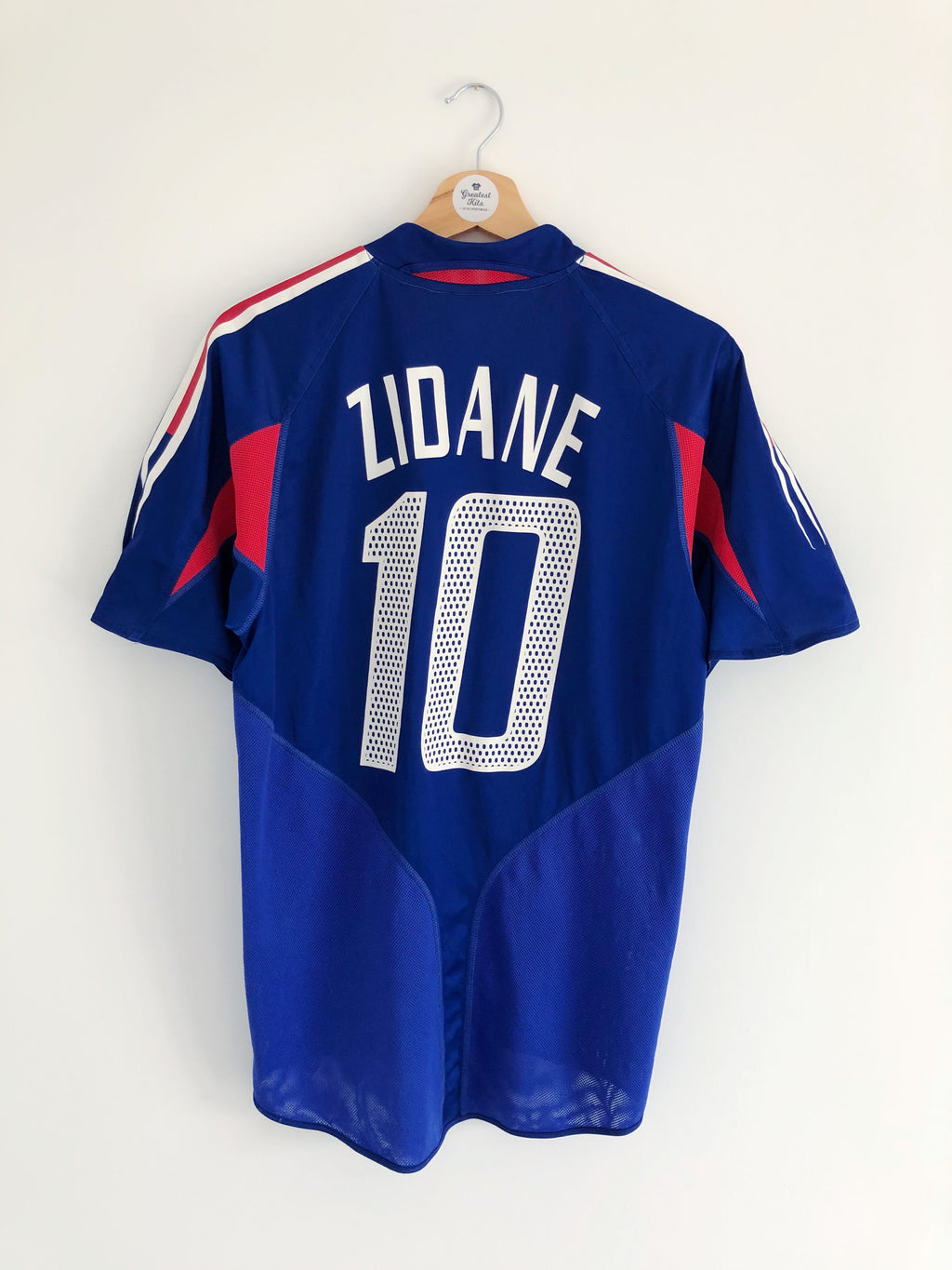 2004/06 France Home Shirt Zidane #10 (S) 8.5/10