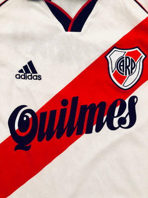 2000/02 River Plate Home Shirt (S)