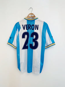 1999/00 Lazio Home European Shirt Veron #23 (S) 7/10