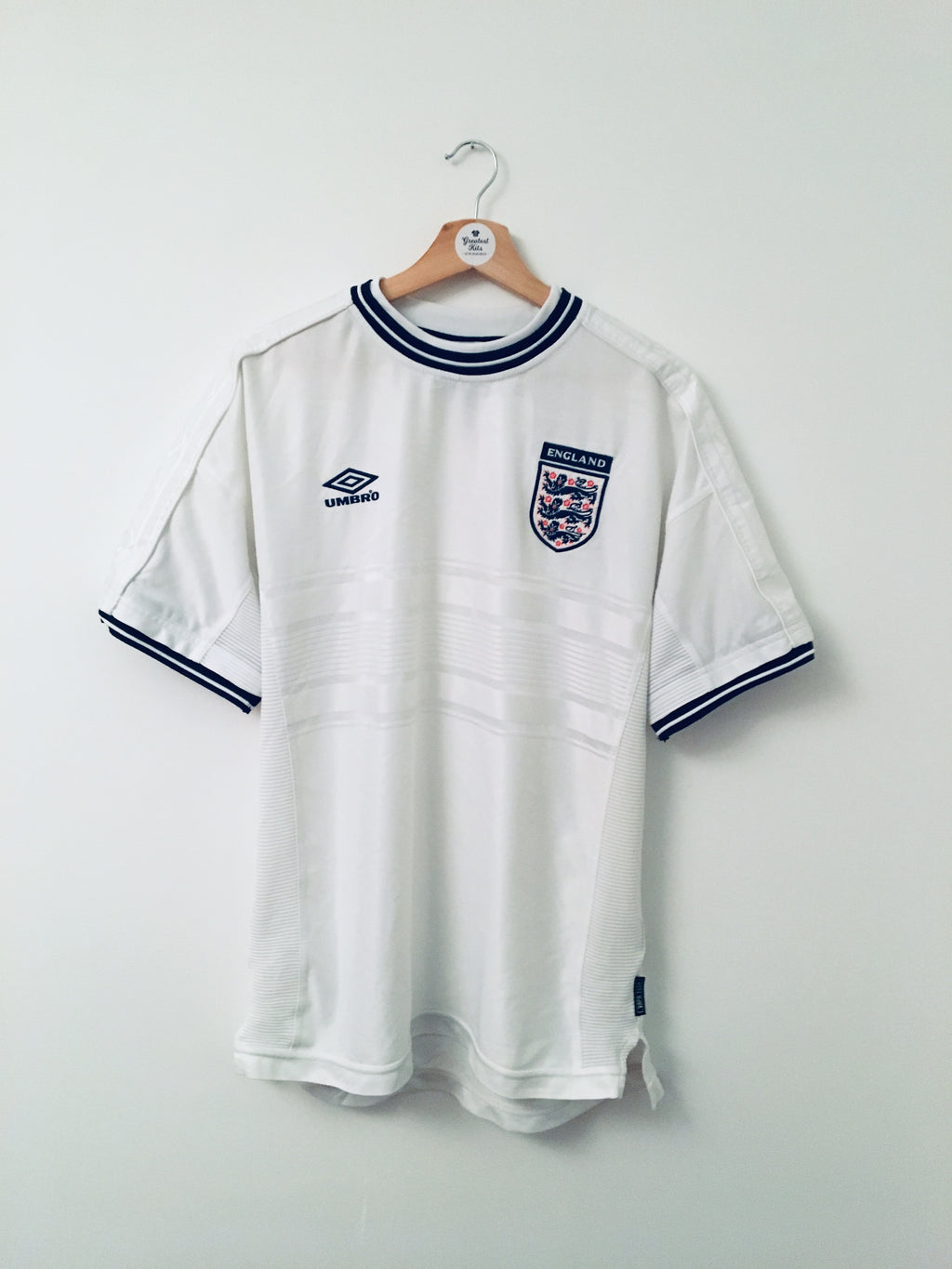 1999/01 England Home Shirt (XL)