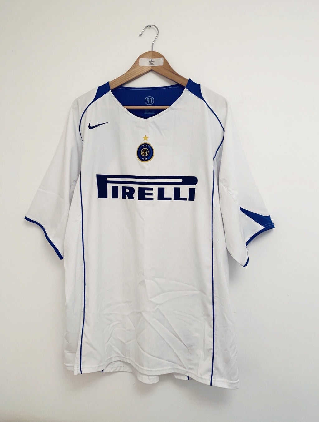 2004/05 Inter Milan Away Shirt (XXL) 9/10