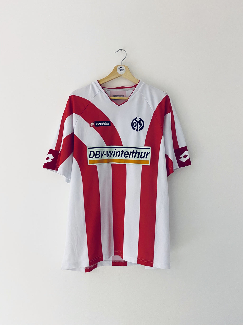 2006/07 FSV Mainz Home Shirt (XL) 8.5/10