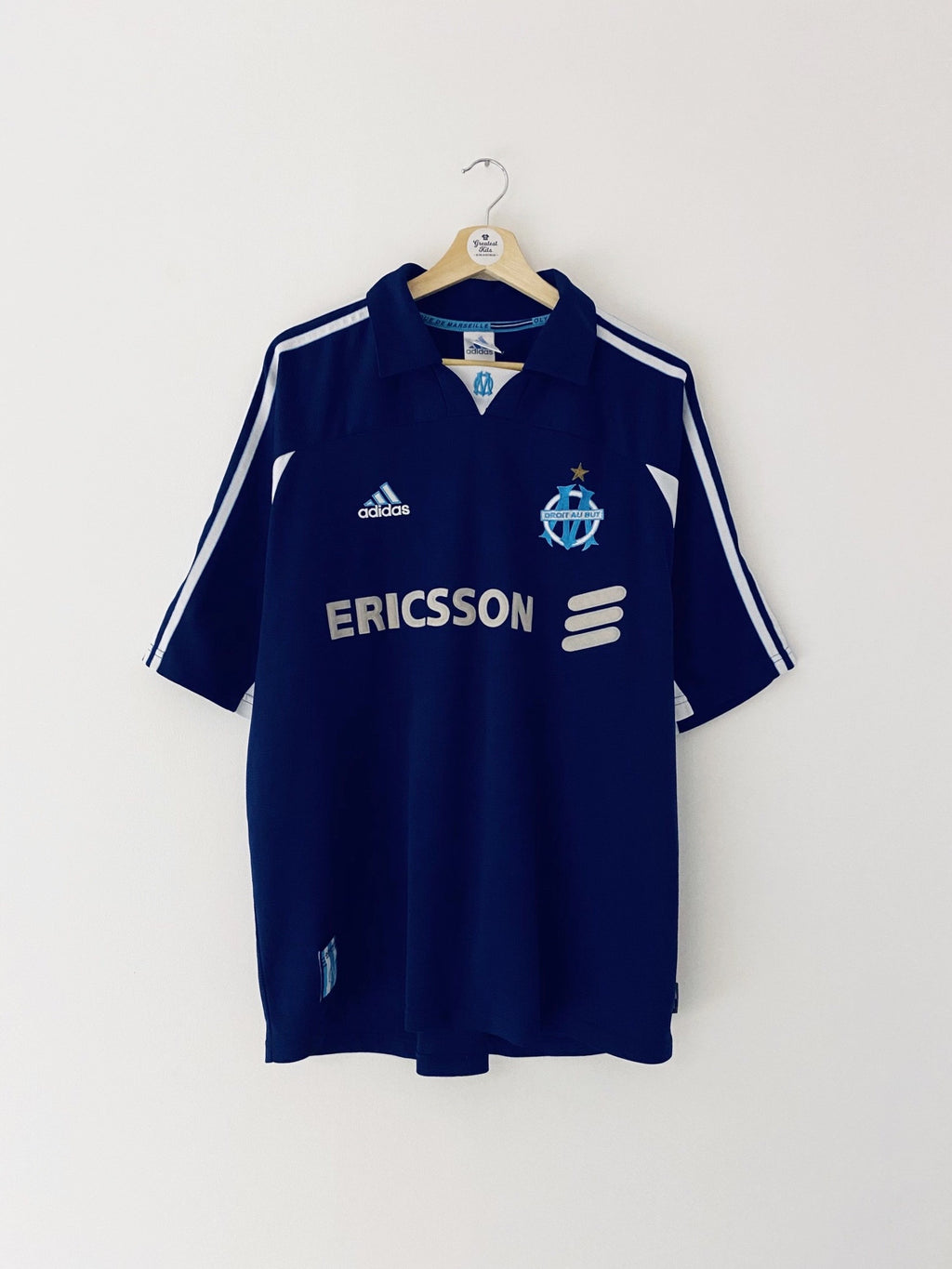 1999/00 Olympique Marseille Away Shirt (XL) 9/10
