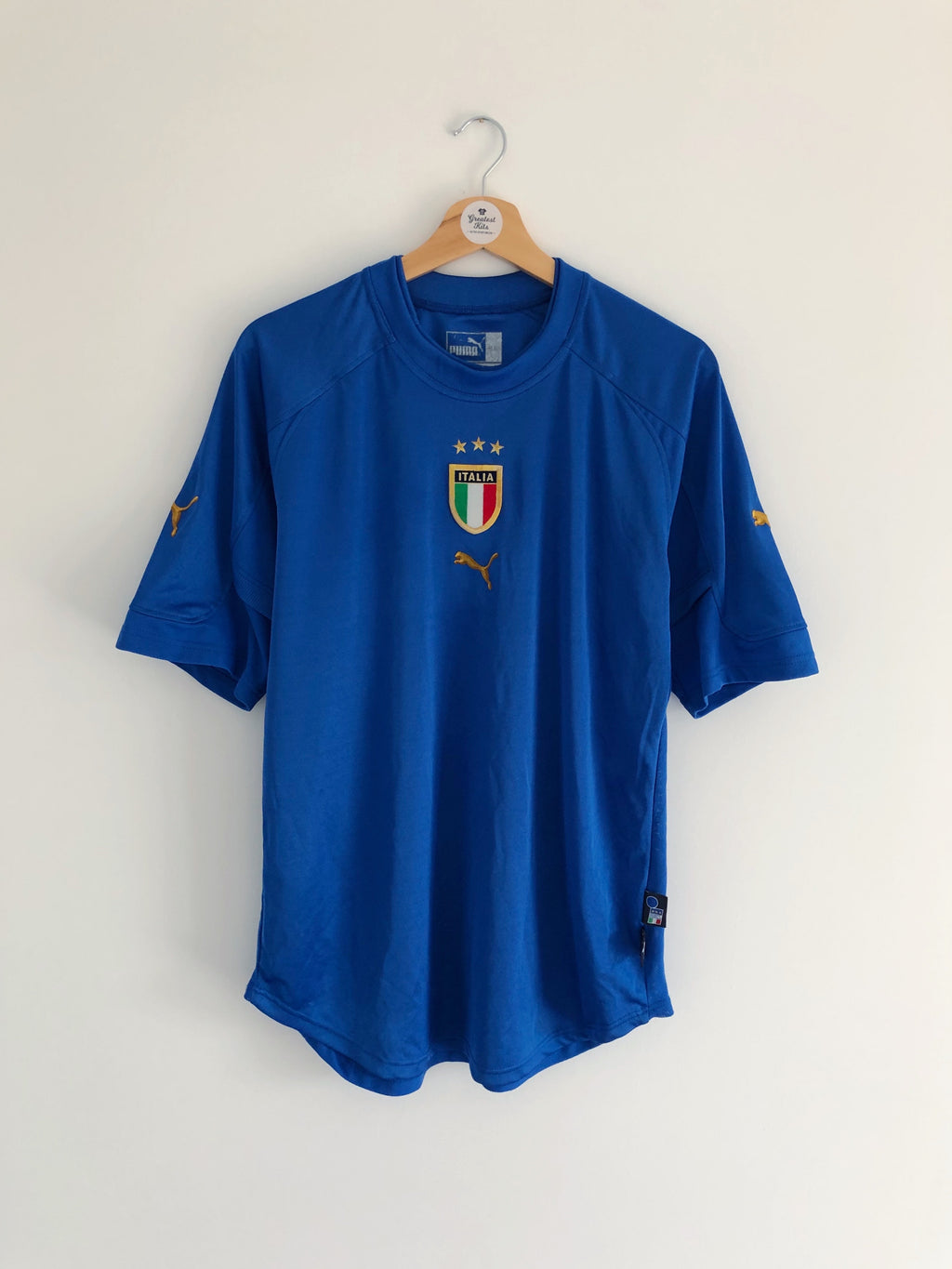 2004/06 Italy Home Shirt (L) 8.5/10