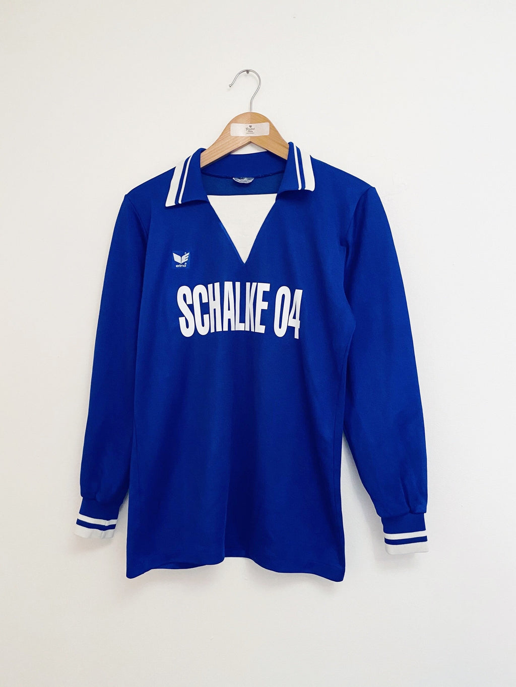 1978/79 Schalke Home L/S Shirt (M) 9/10