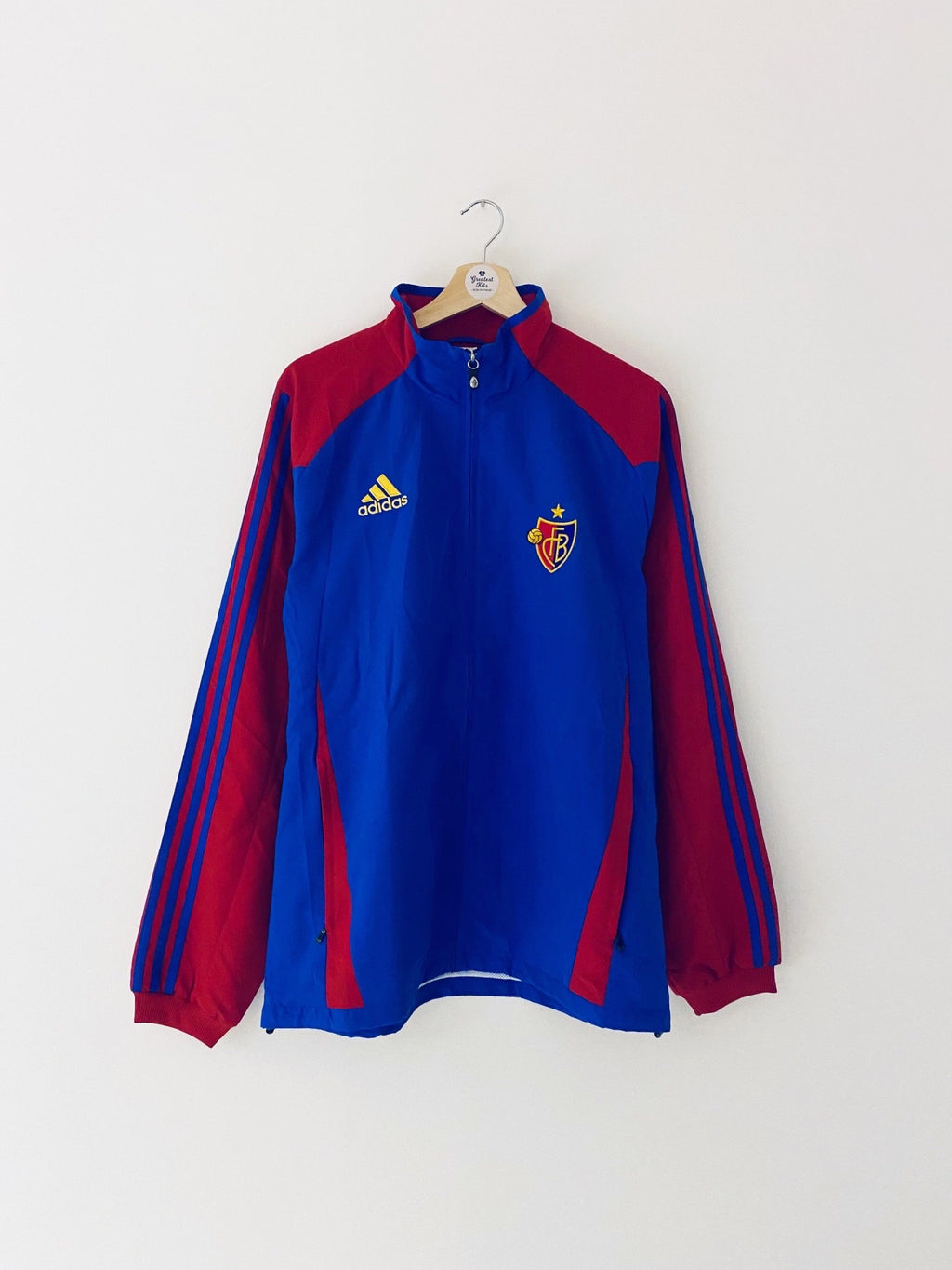 2012/13 FC Basel Training Jacket (M/L) 9.5/10