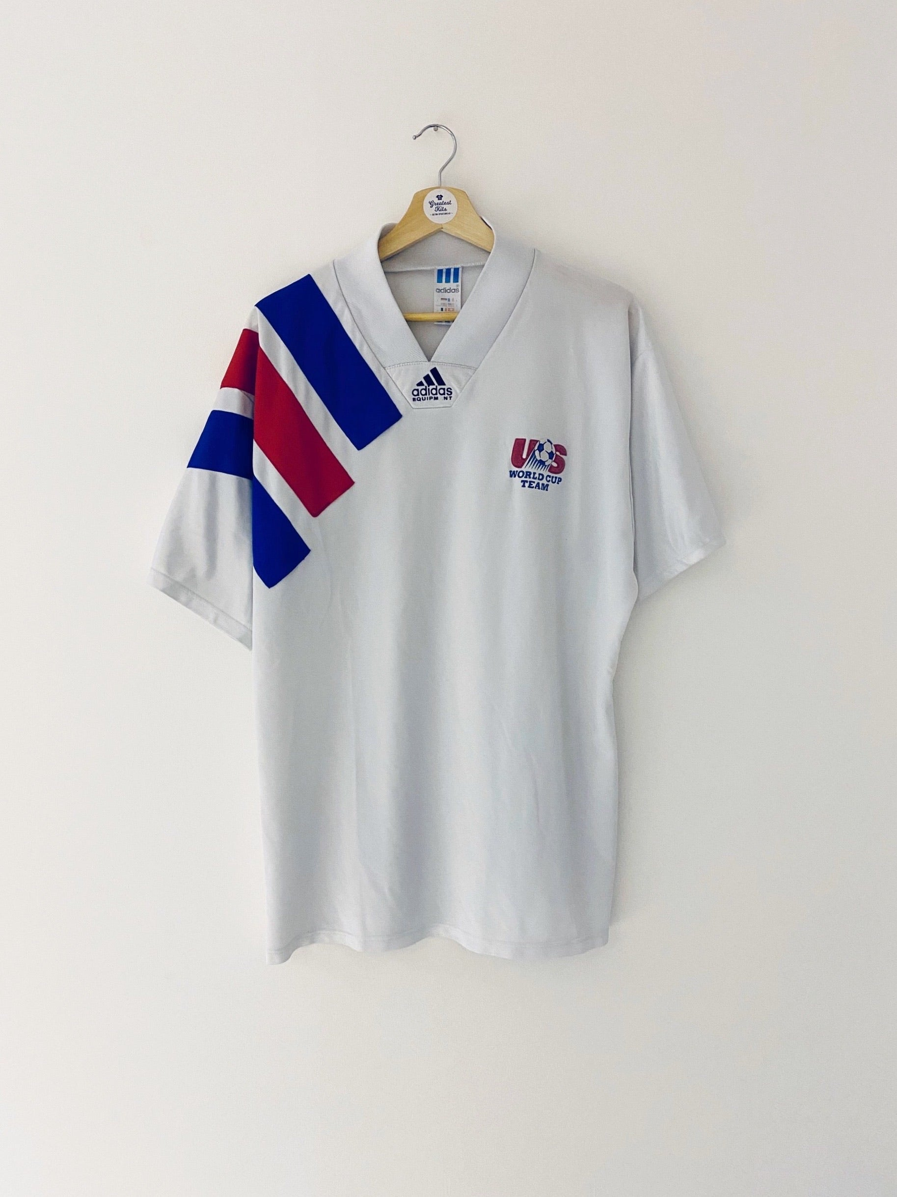 1992/94 USA Home Shirt (L) 7/10