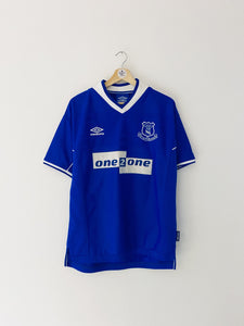 1999/00 Everton Home Shirt (M) 8.5/10