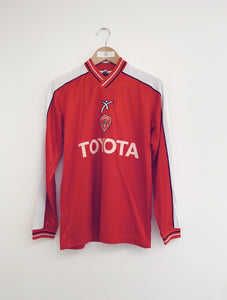 2002/03 Perugia Home L/S Shirt (M) 8.5/10