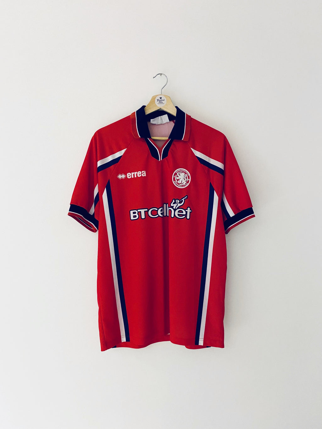 1999/00 Middlesbrough Home Shirt (M) 8/10