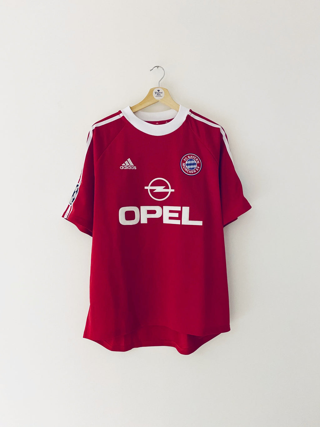 2001/02 Bayern Munich CL Shirt (L) 9/10