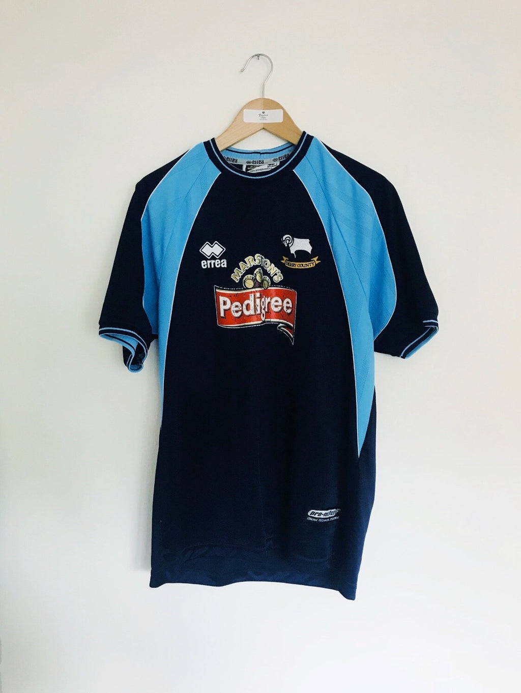 2001/03 Derby County Away Shirt (L) 6.5/10