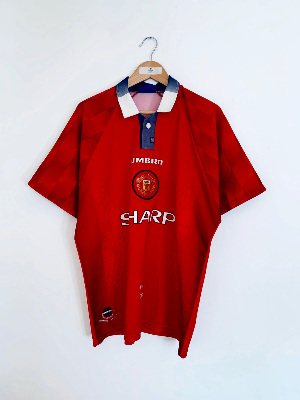 1996/98 Manchester United Home Shirt (L) 5.5/10