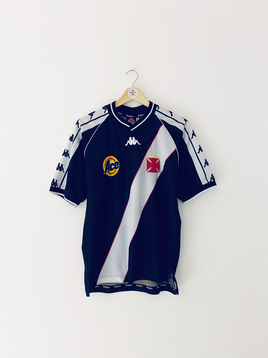 1999/00 Vasco da Gama Home Shirt #6 (Felipe) (S) 7/10