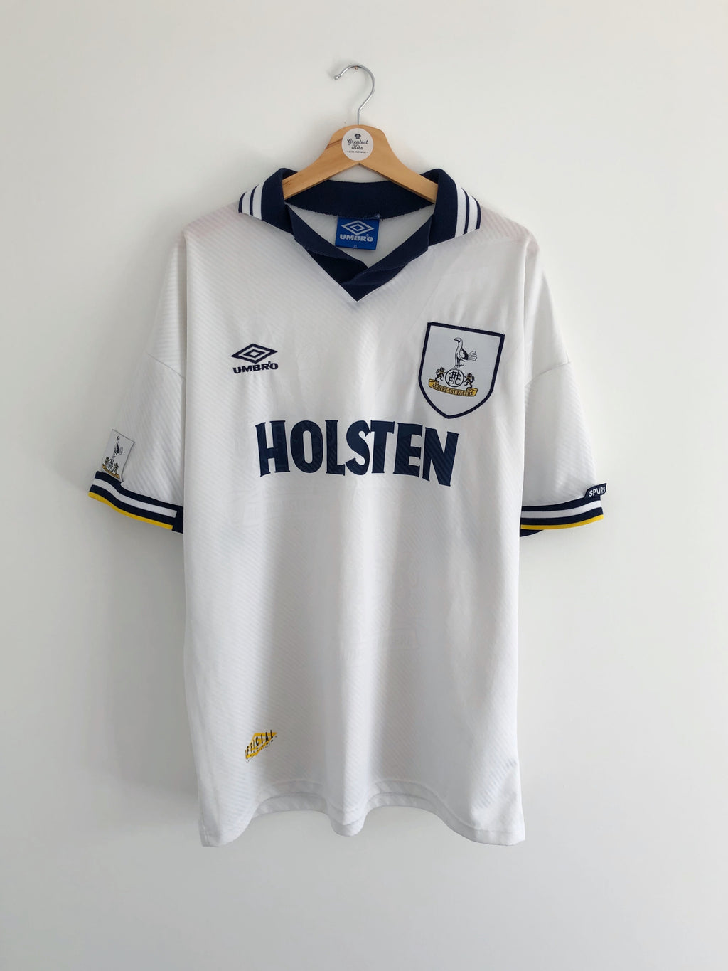 1993/95 Tottenham Home Shirt (XL) 9/10