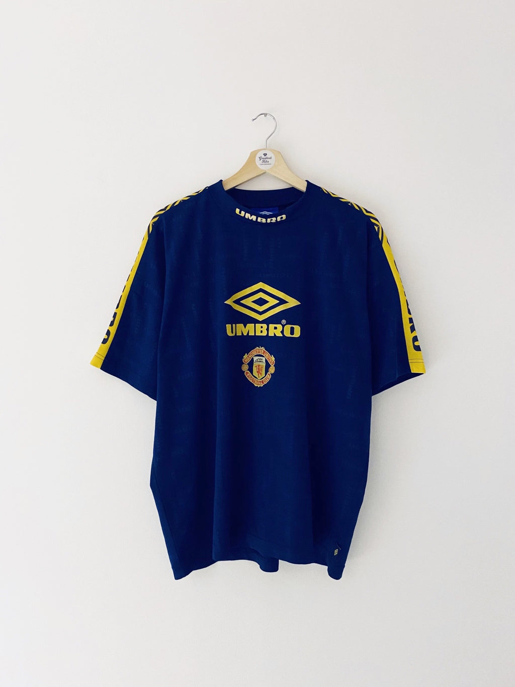 1997/98 Manchester United Training Shirt (L) 8/10