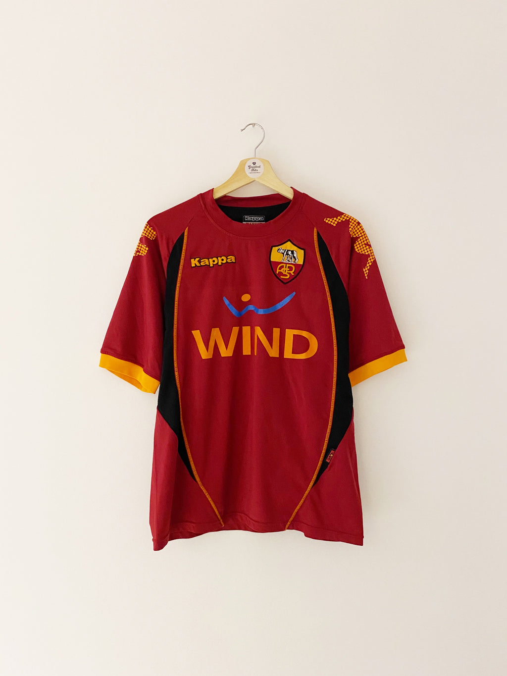 2008/09 Roma Training Shirt (M) 7.5/10