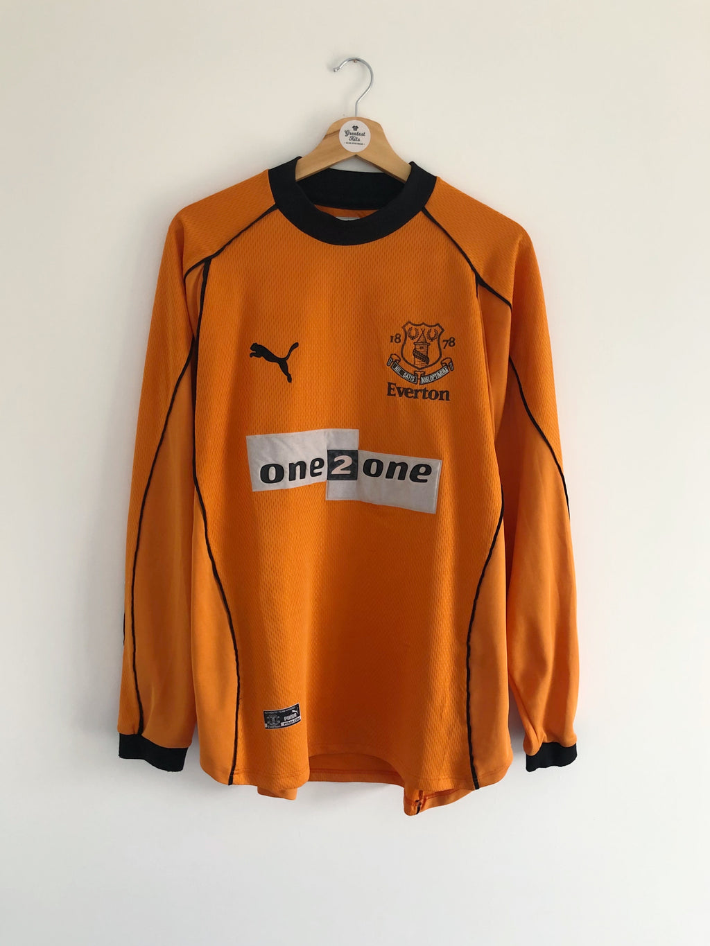 2000/01 Everton GK Shirt (L) 9/10