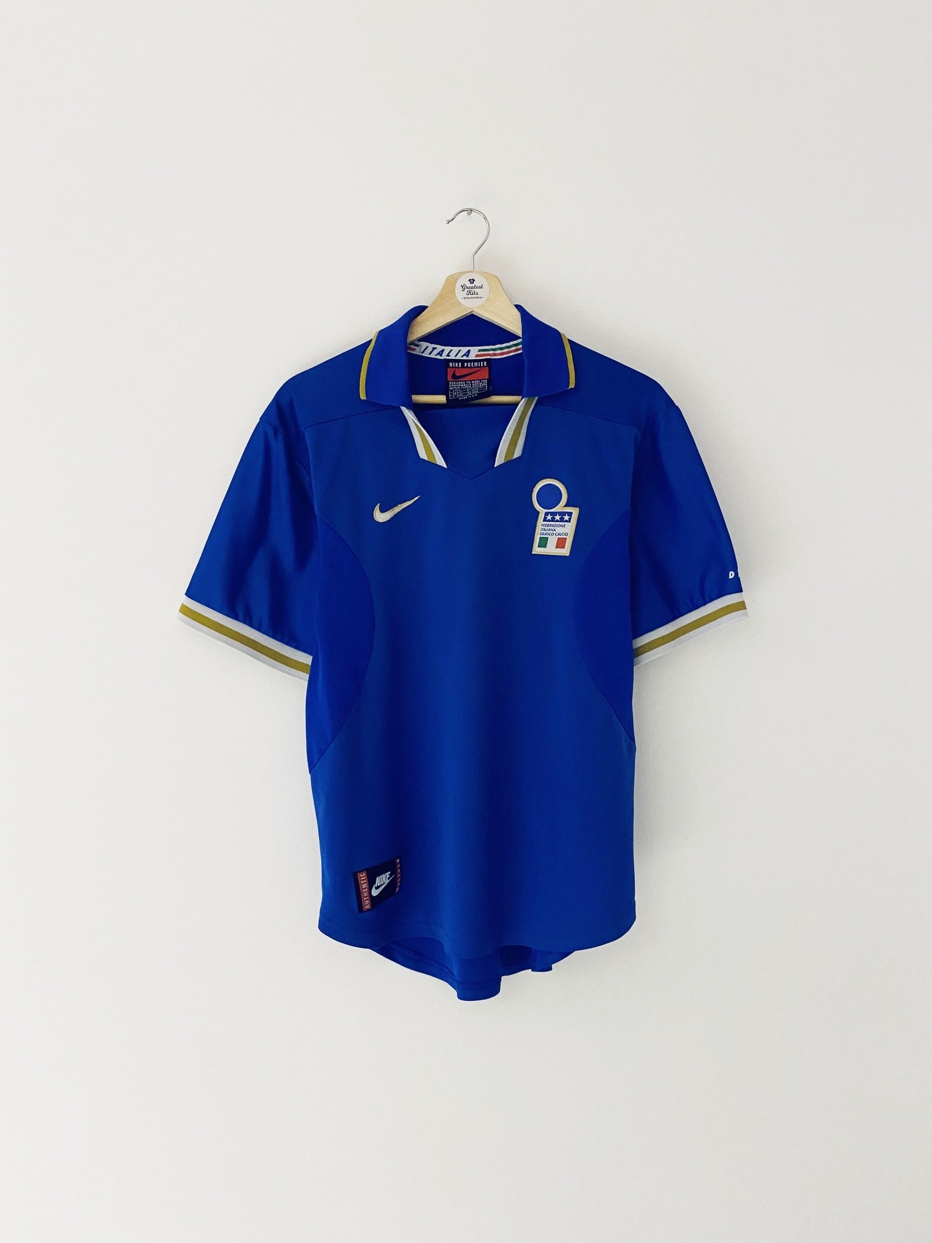 1996/97 Italy Home Shirt (M) 8/10