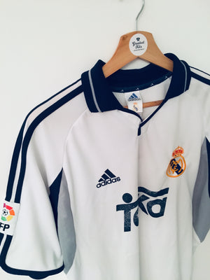 2000/01 Real Madrid Home Shirt (L) 7/10