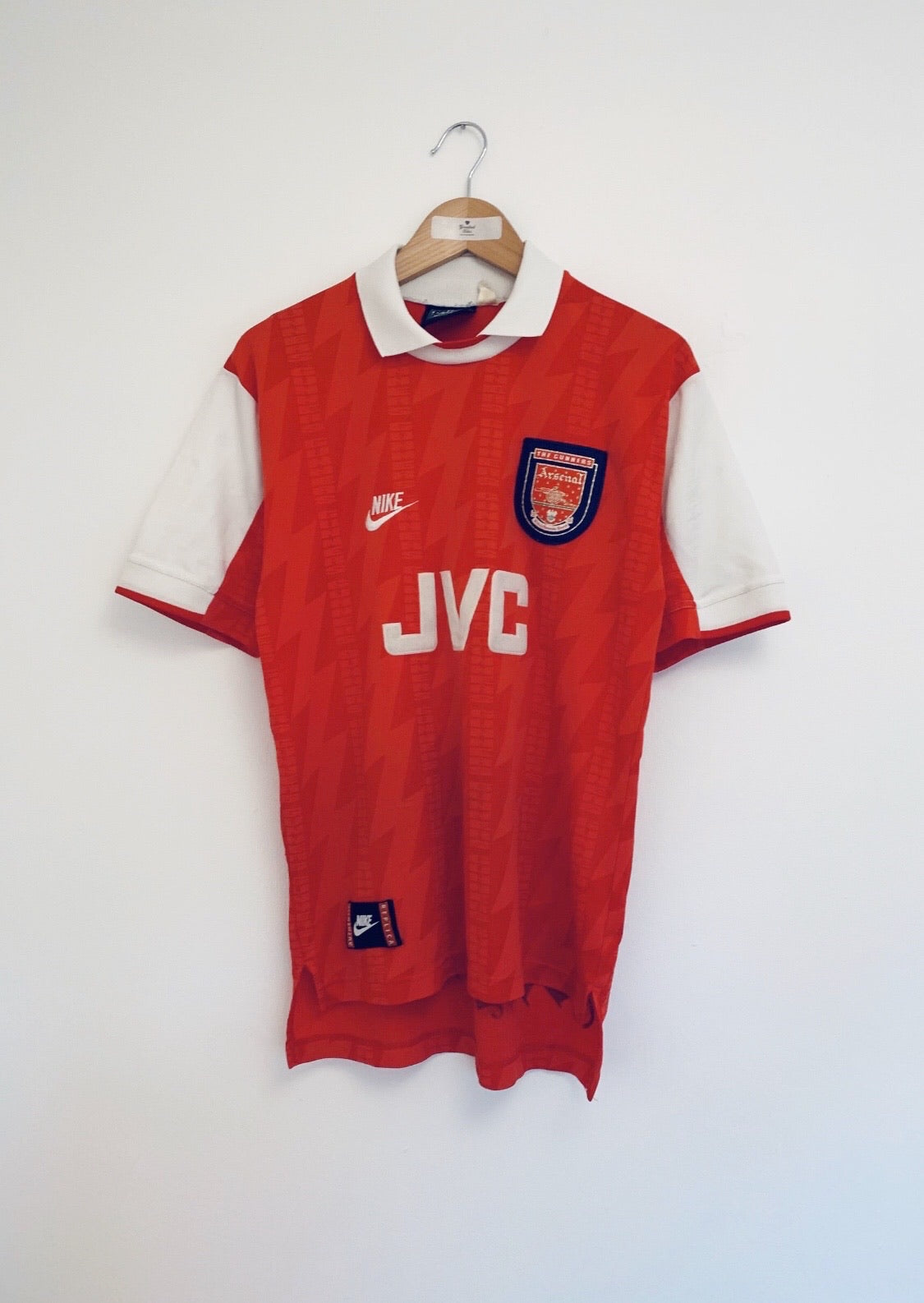 1994/96 Arsenal Home Shirt (S) 9/10
