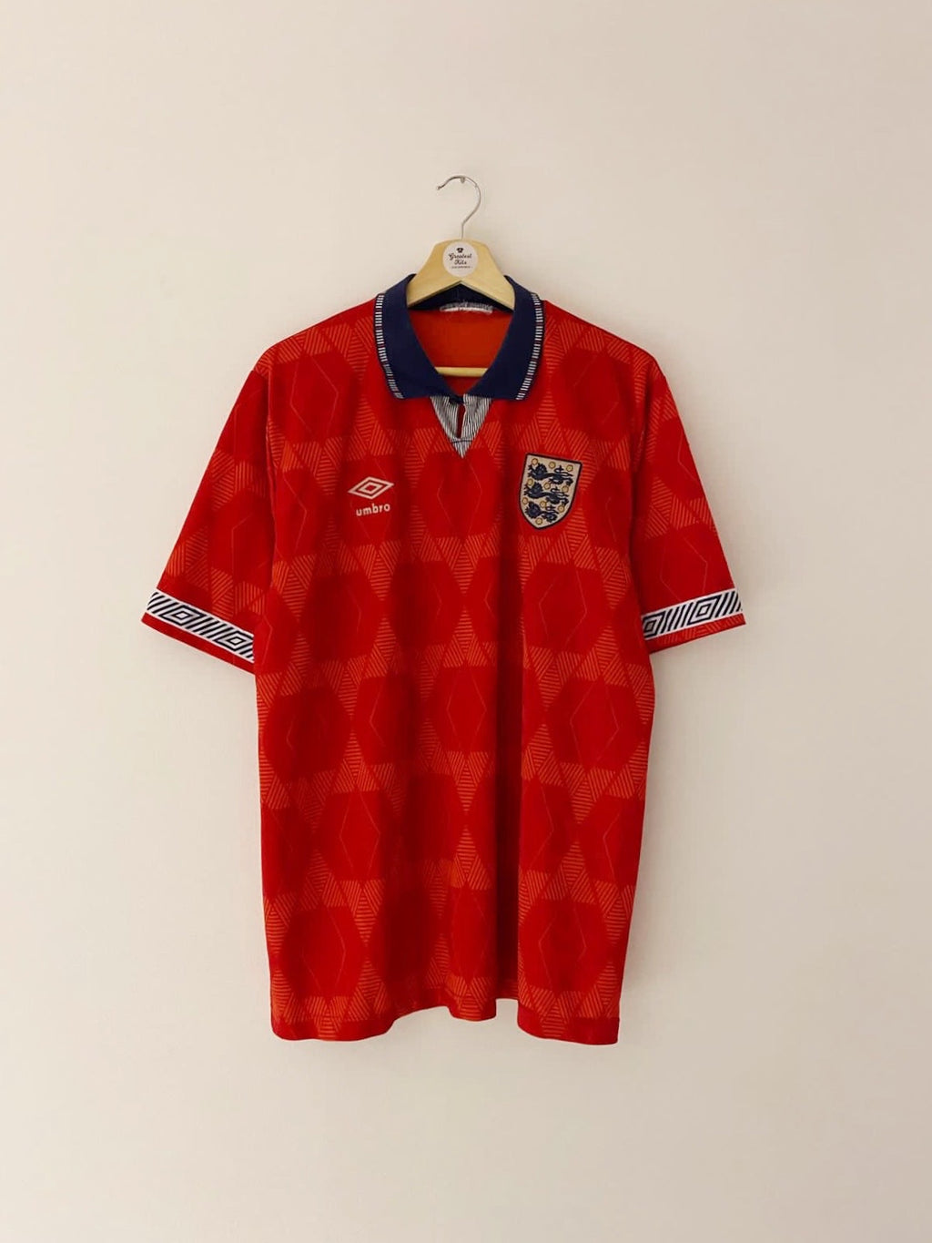 1990/93 England Away Shirt (XL) 7/10