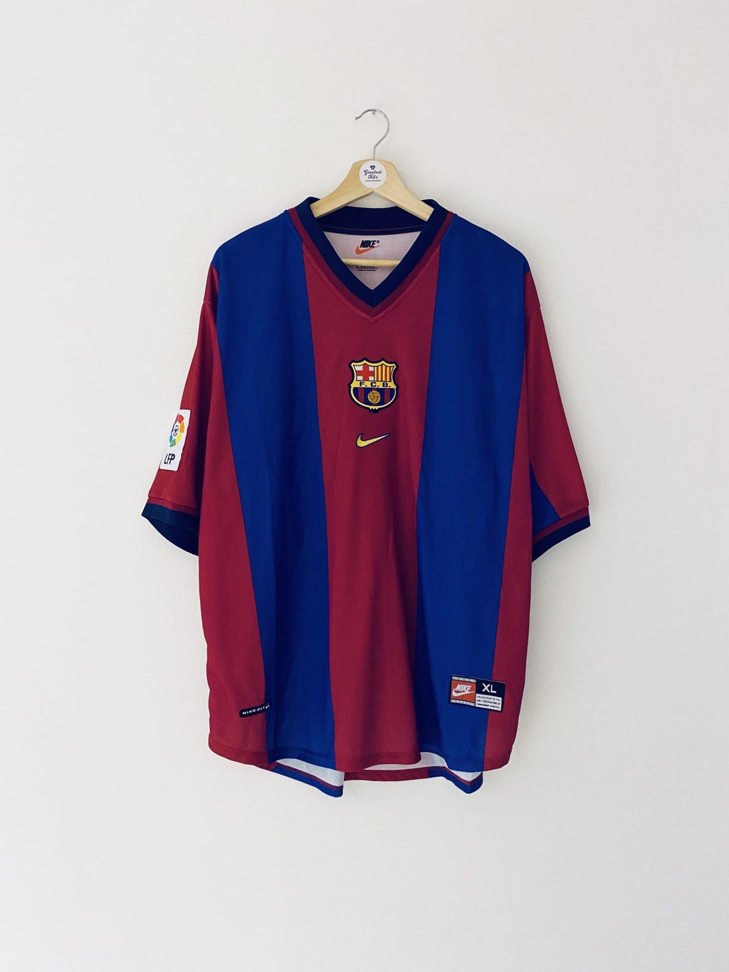 1998/00 Barcelona Home Shirt (XL) 10/10