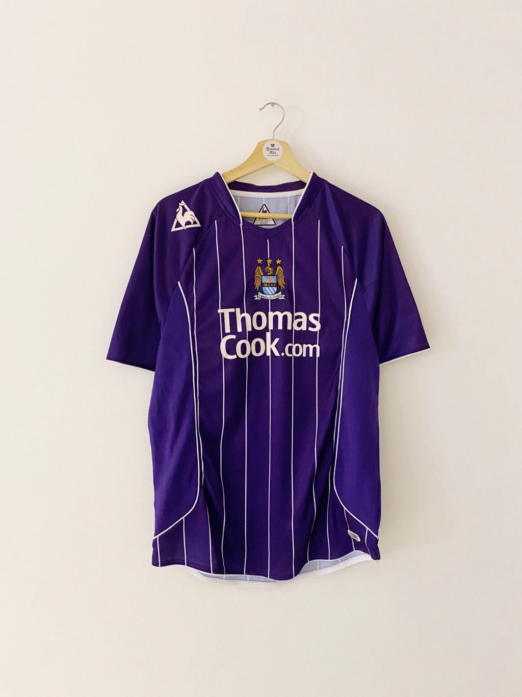 2007/08 Manchester City Away Shirt (L) 9/10