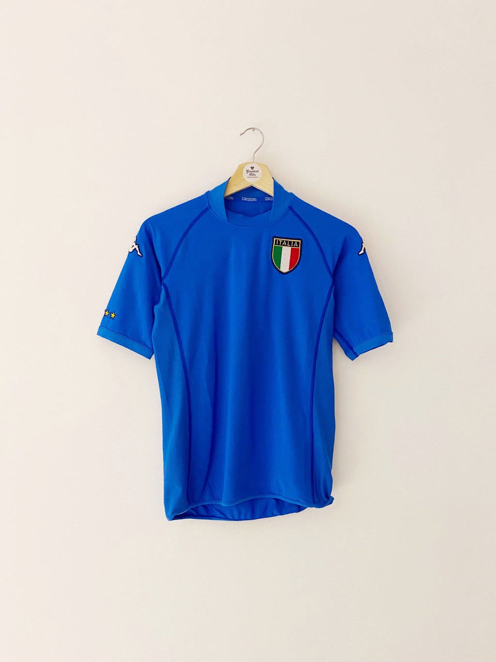 2002 Italy Home Shirt (S) 9/10