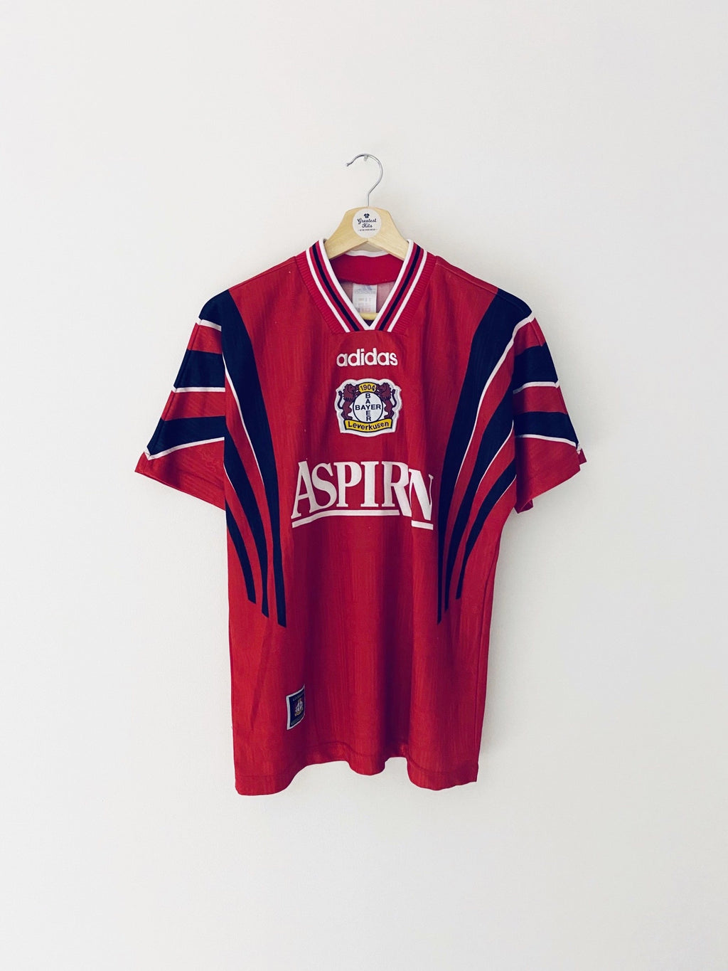 1997/98 Bayer Leverkusen Home Shirt (Y) 7/10