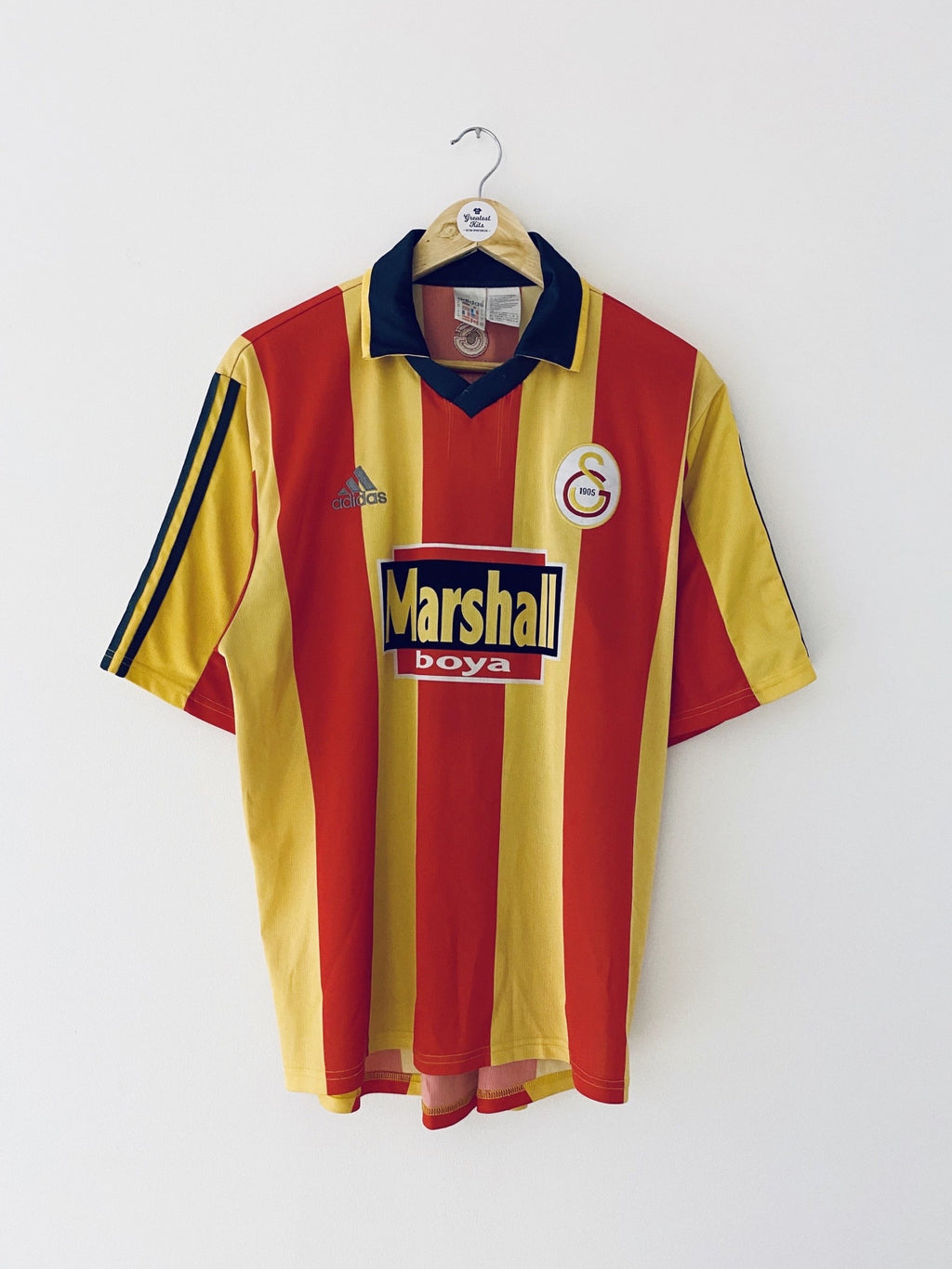 1999/00 Galatasaray Home Shirt #9 (Sukur) (M) 7.5/10