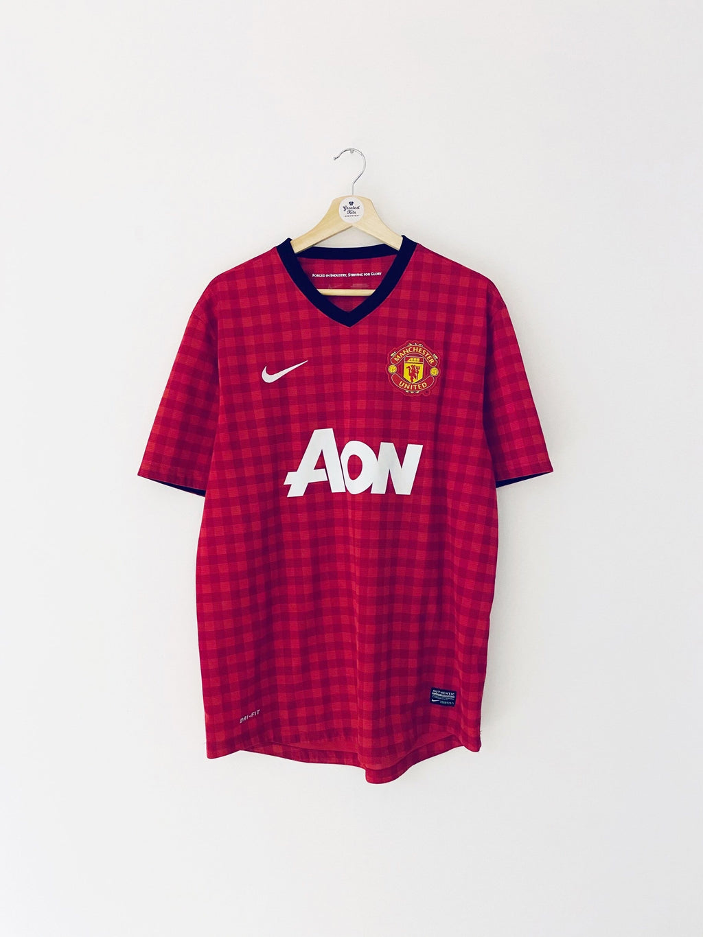 2012/13 Manchester United Home Shirt (L) 9/10