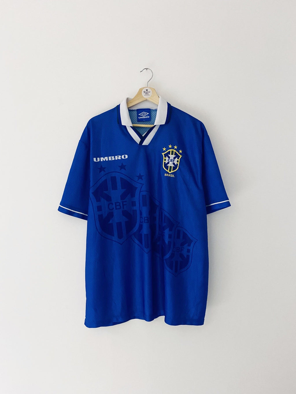 1994/97 Brazil Away Shirt (XL) 9.5/10