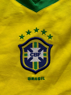 2004/06 Brazil Home Shirt (XL)